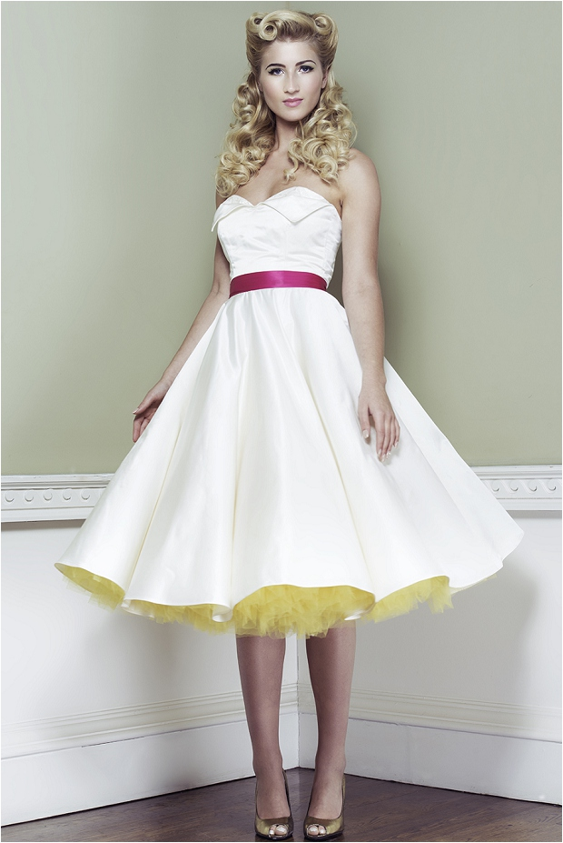 Wedding dresses 2014 50s style oh my honey for Wedding dresses pin up style