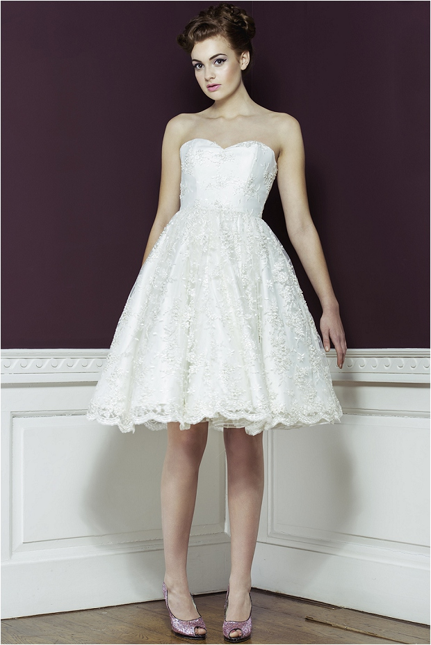 Wedding dresses 2014 50s style oh my honey for 50s inspired wedding dress