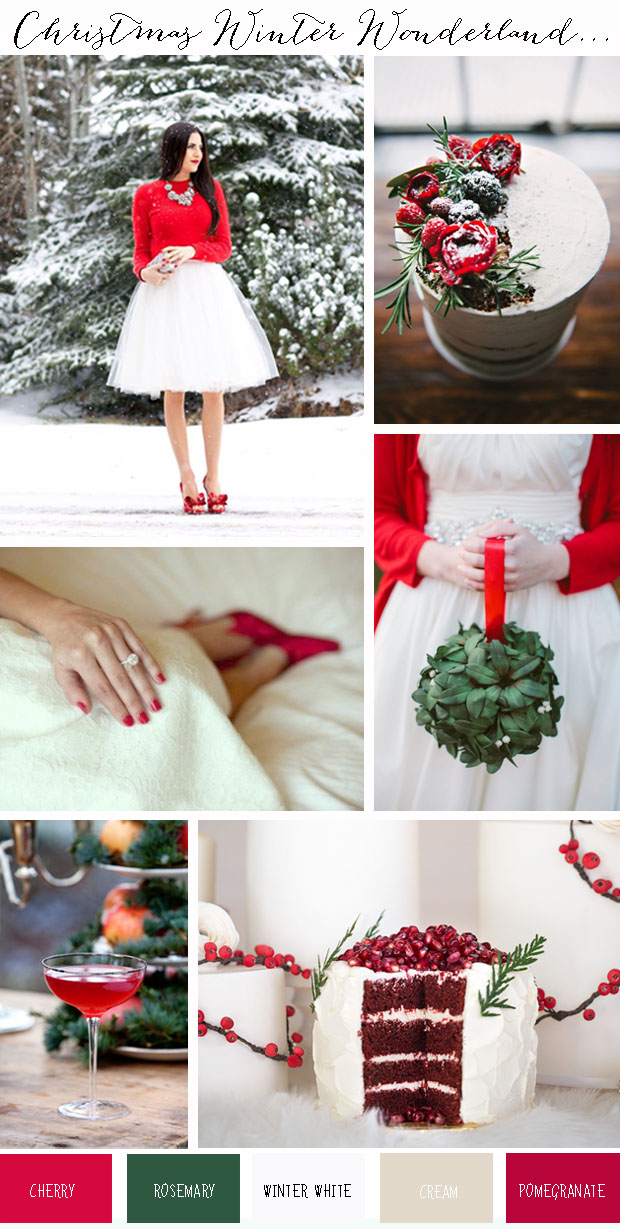 Christmas Winter Wonderland | Wedding Ideas