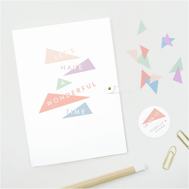 Contemporary & Stylish Wedding Stationery: Style & Joy y