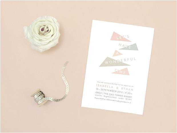 Contemporary & Stylish Wedding Stationery: Style & Joy