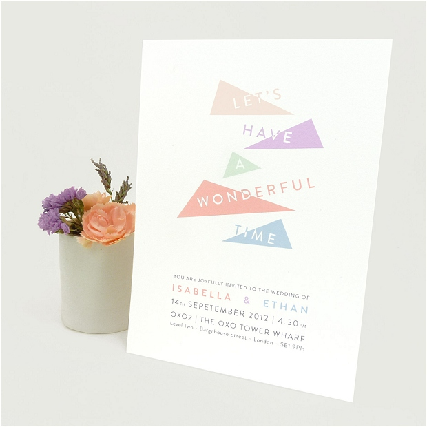 Contemporary & Stylish Wedding Stationery: Style & Joy