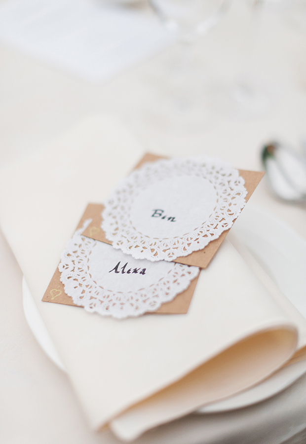 Doily wedding name places