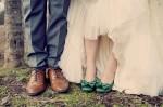 Green Wedding Shoes: An Ultra Stylish Boho Wedding With Subtle Vintage Vibe