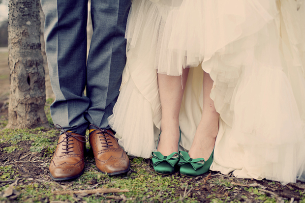 Green Wedding Shoes: An Ultra Stylish Boho Wedding With Subtle Vintage Vibe