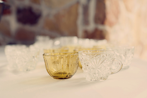 Pretty teacup favours & the ultimate dessert buffet | real wedding