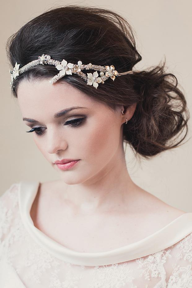 Klaire Van Elton Bridal 2014 | Beautiful Quirky Paper Inspired Headpieces