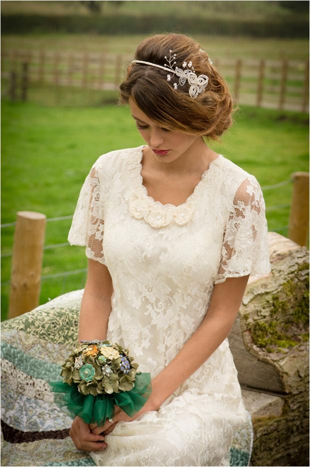 Sweet & Rustic Vintage Inspired Bridal Shoot_0007
