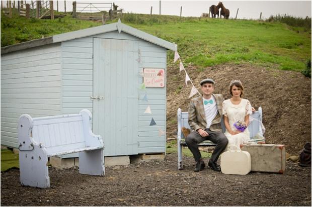 Sweet & Rustic Vintage Inspired Bridal Shoot_0008