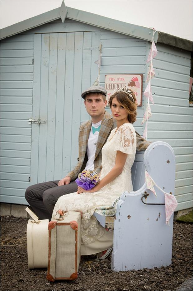 Sweet & Rustic Vintage Inspired Bridal Shoot_0009