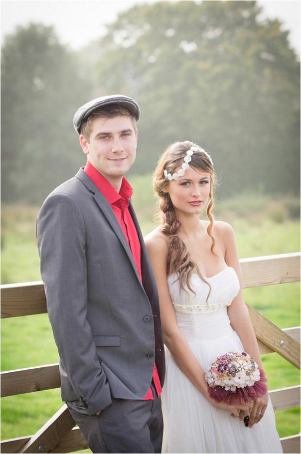 Sweet & Rustic Vintage Inspired Bridal Shoot_0015