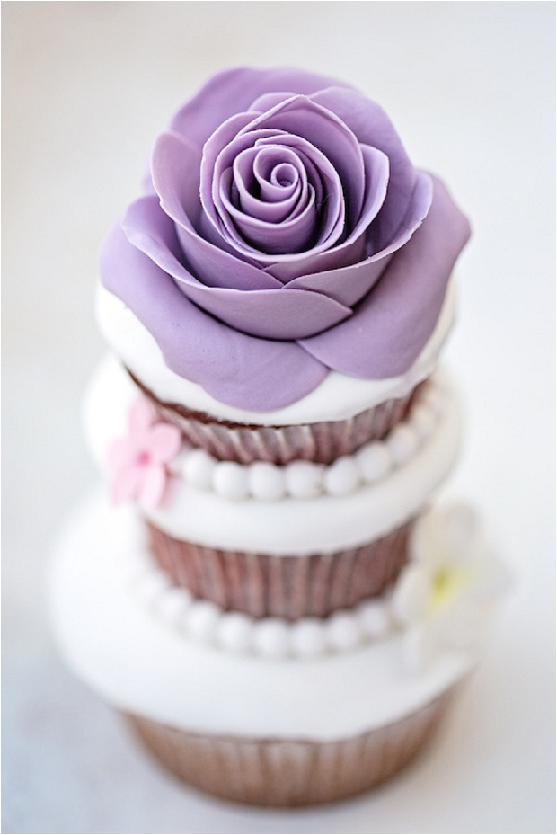 Ornate Cupcakes - The Prettiest & Coolest Wedding Cake Trends For 2014