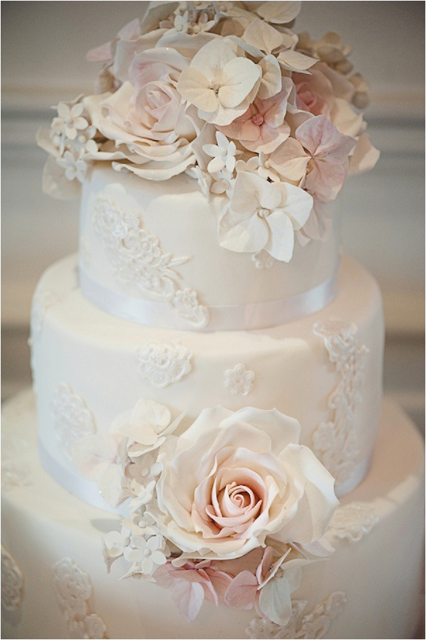 Vintage Wedding Cakes - The Prettiest & Coolest Wedding Cake Trends For 2014
