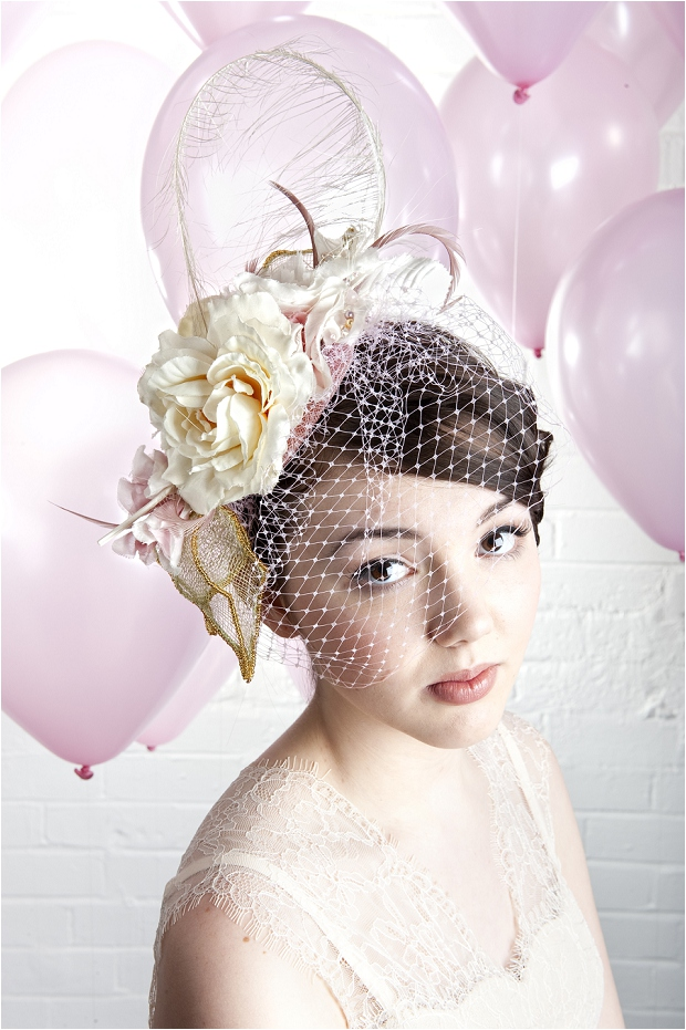Vintage Inspired Veils |The Birdcage Collection: By Harriet