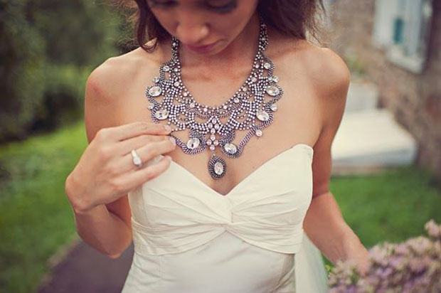 In Your Face Bridal Style | Statement Necklaces