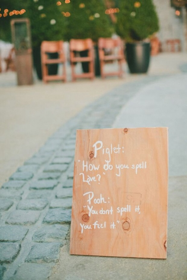 Top Wedding Signage Inspirations & Ideas!