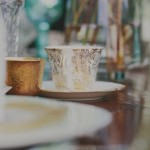Antique Gold & Powder Blue | Wedding Inspiration: Colour