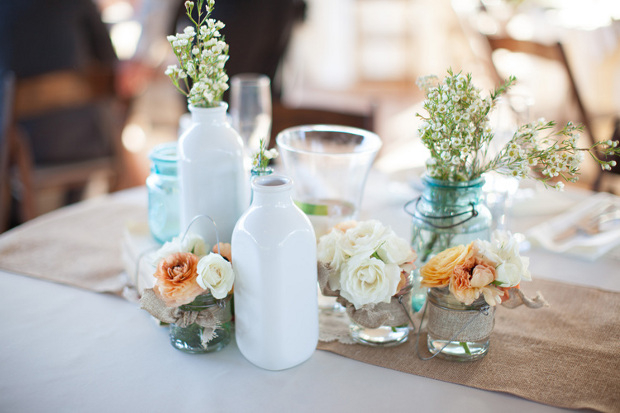 Hessian Table Setting