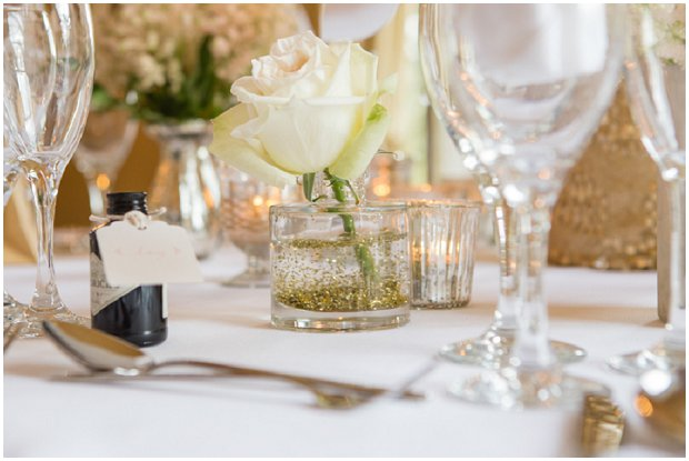 Pale Golds, Silvers & Pastels: Sequins & Glitter | Styled Shoot at The Fennes