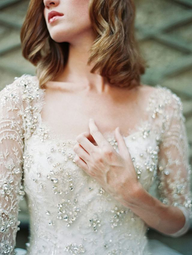 Top Wedding Dress Trends 2014 - Bead Detailing