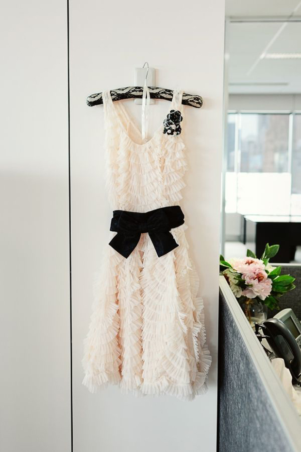Top Wedding Dress Trends 2014 - black accents