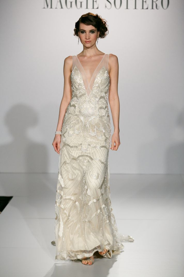 Wedding Dress Trends For 2014 - Gatsby Glamour