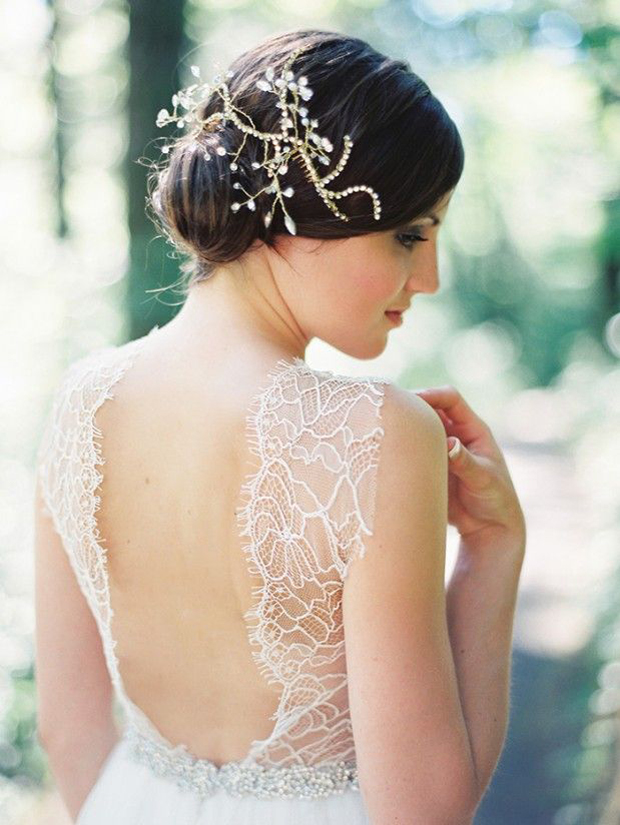Wedding Dress Trends For 2014 - Dramatic Back