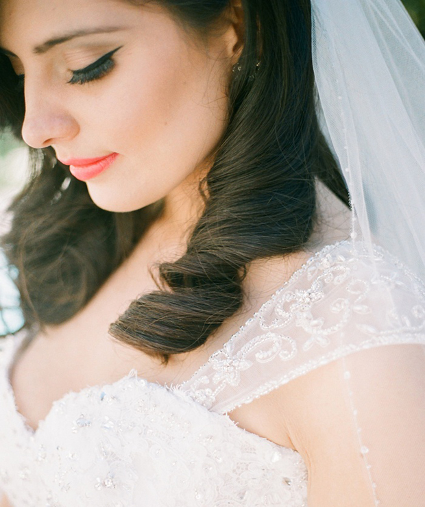 Bridal Make-up Tutorial: Modern Vintage | Eyeliner + Lips