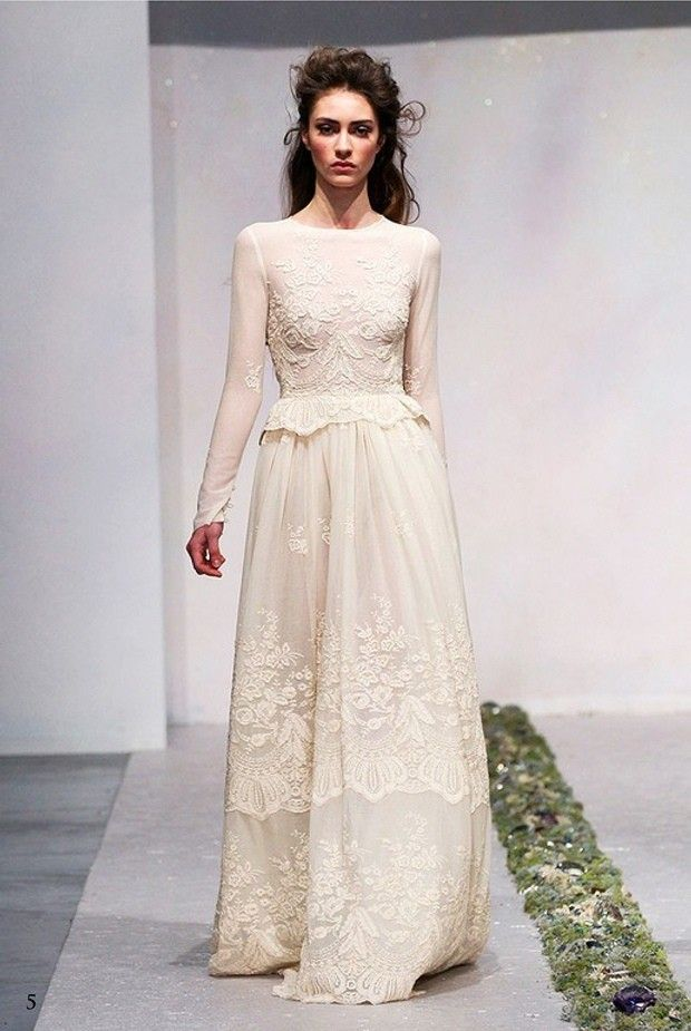 Top Wedding Dress Trends 2014