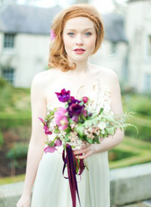 radiant orchid - Fabulous Floral Trends For 2014 | Wedding Ideas