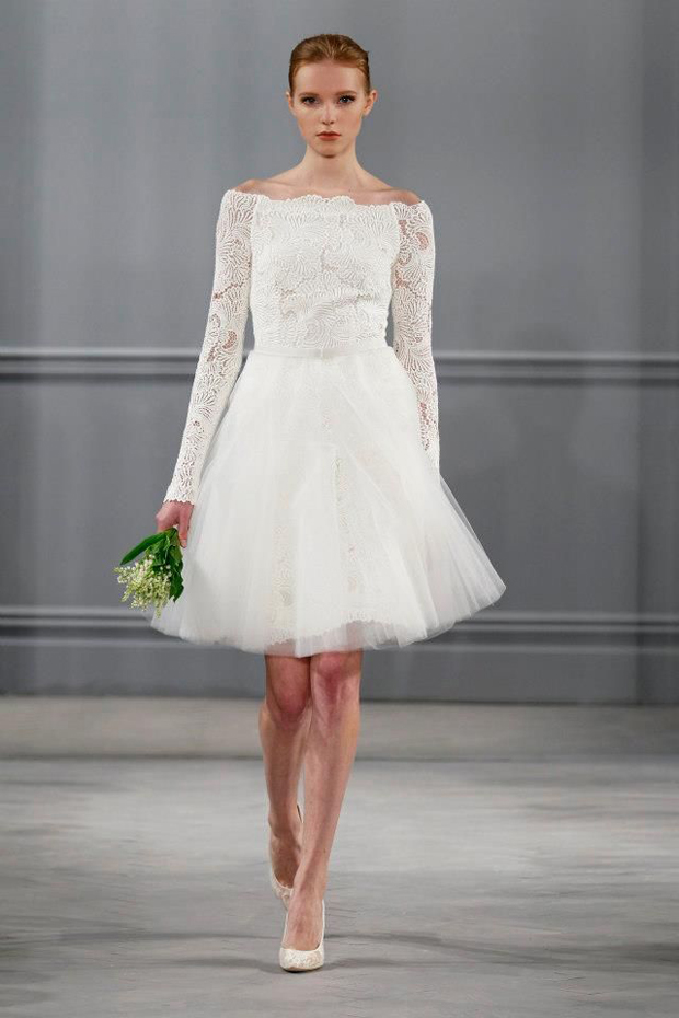 Top Wedding Dress Trends 2014 - Short wedding dress