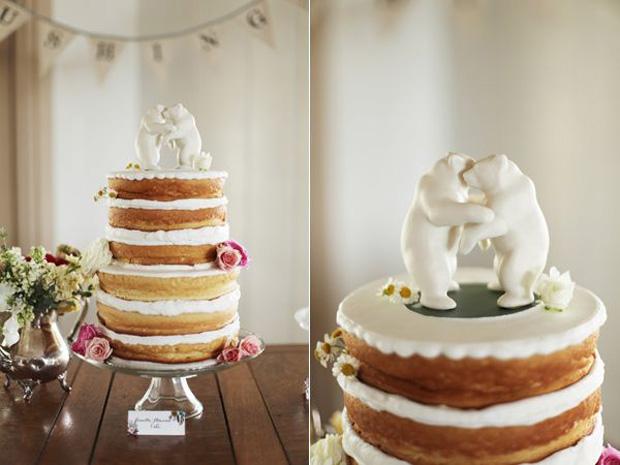 Bear Hug Cake Topper