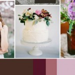 Berries & Brown: Wedding Inspiration | Colour Ideas