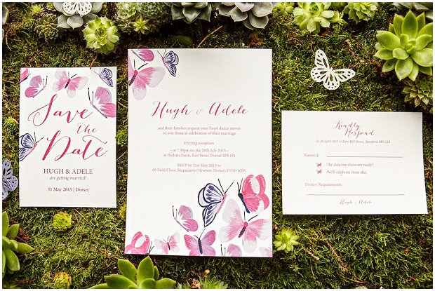 The Butterfly Collection - BerinMade Wedding Stationery