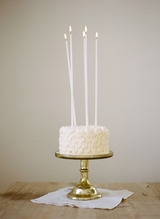 Candles Cake Topper