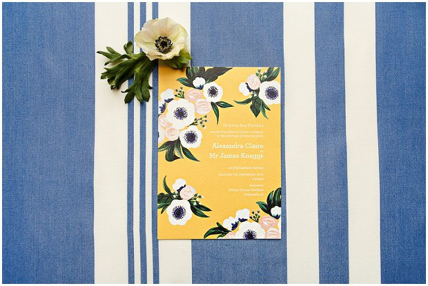 Darling Anemone Collection - BerinMade Wedding Stationery