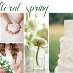 Floral Spring | Wedding Inspiration: White & Green