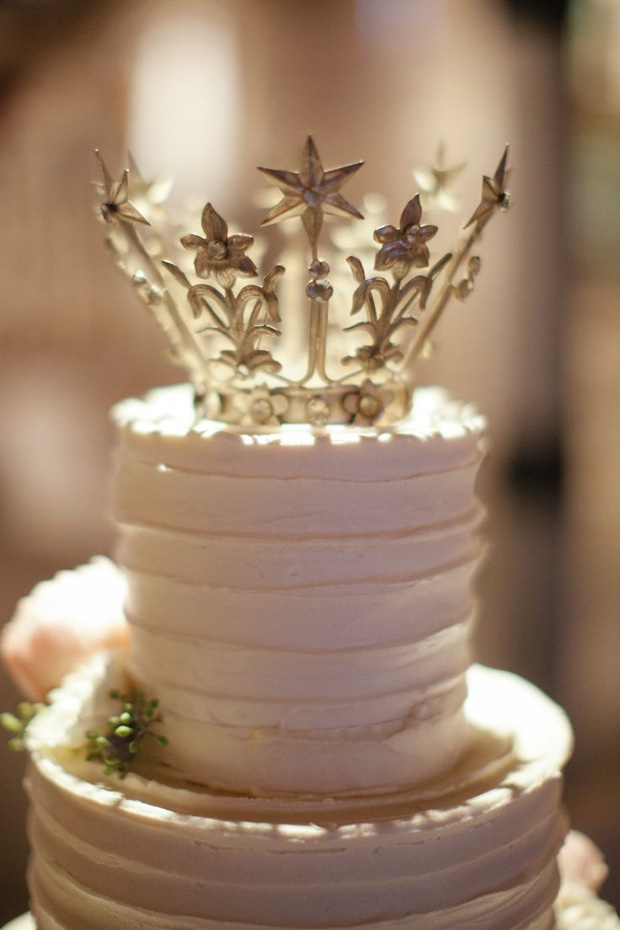Gorgeous Crown Cake Topper
