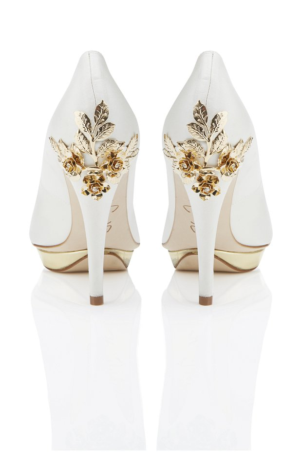 Super Glam Wedding Shoes by Harriett Wilde