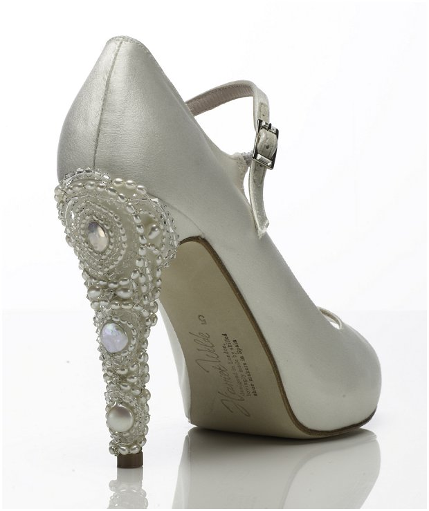 Super Glam Wedding Shoes by Harriet Wilde