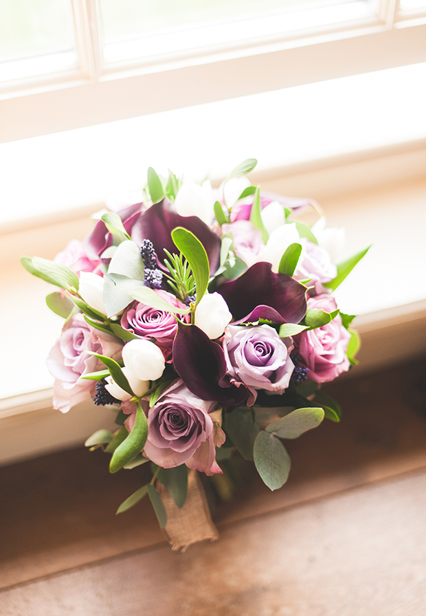 Radiant Orchid | A Pantone Purple Rustic Winter Wedding: Michelle & Ben
