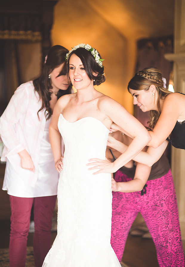 Radiant Orchid Rustic Wedding: Michelle & Ben