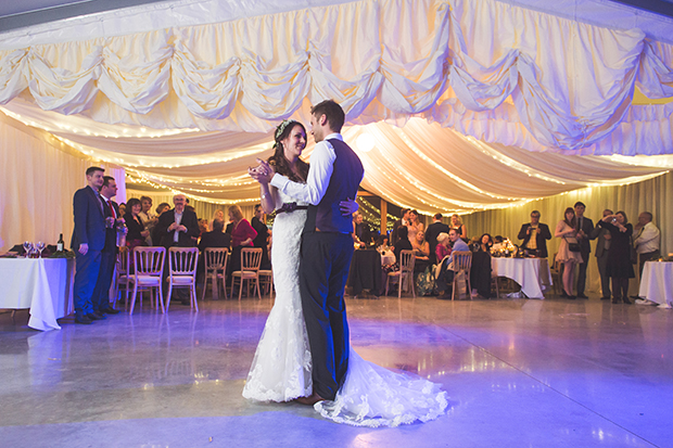 Radiant Orchid | A Pantone Purple Rustic Winter Wedding: Michelle & Ben