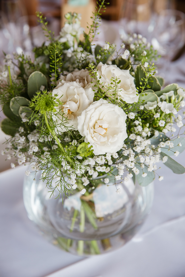 Powder Blue, Pink & White: Romantic Barn Wedding: Laura & Sion