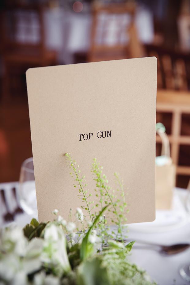 top gun table name