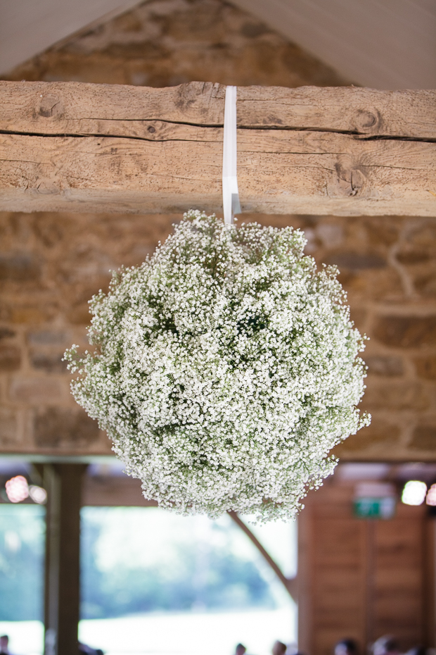Baby's breath hanging decoration