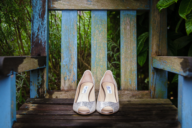 Silver wedding shoes - Jimmy Choo