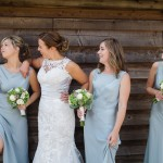 Powder Blue, Pink & White: Romantic Barn Wedding: Laura & Sion