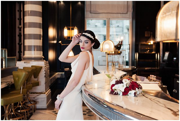 Art Deco Inspired Bridal Headpieces by Olivier Laudus