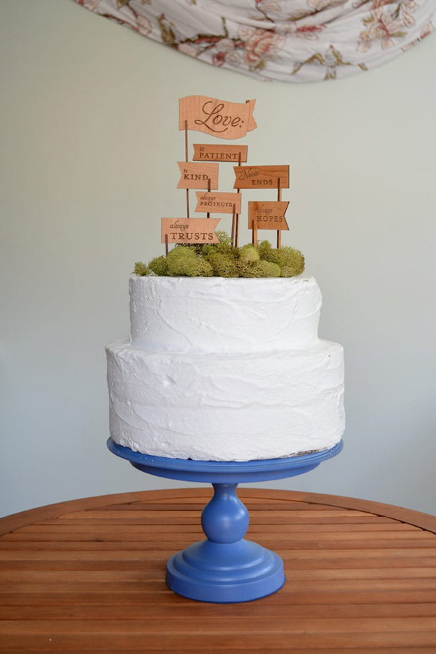 Signage Cake Topper